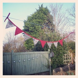 Bunting - Choice of different Christmas Designs - 7 Triangles