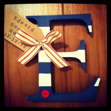 Personalised Alphabet Letters