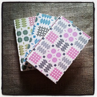 Welsh Blanket - A6 notebook : Variety of Colours Available